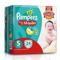 Tã quần Pampers S24 (4-8kg)