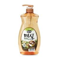 Nước rửa rau quả và chén bát CJ Lion Real Green tinh chất trái mơ