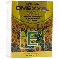 Viên Uống Bổ Sung Vitamin E Đẹp Da , Chống Lão Hóa , Hỗ Trợ Tim Mạch Omexxel E400