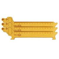 Thước gỗ chó 150mm