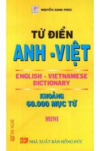 Từ Điển Anh - Việt (60000 Từ)