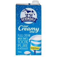 Sữa Devondale nguyên kem 2L