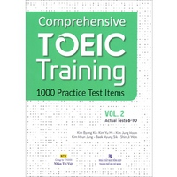 Comprehensive Toeic Training 1000 Practice Test Items (Vol 1-4) - Kèm CD