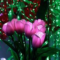 Đèn led hoa Tulip