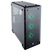 Case Corsair Crystal Series 460X RGB Compact ATX Mid-Tower Case