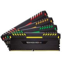 RAM Corsair 32GB (4x8GB) DDR4 Bus 3000 Vengeance RGB CMR32GX4M4C3000C15