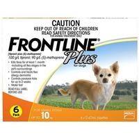 Hộp Frontline Plus trị ve 4-10kg