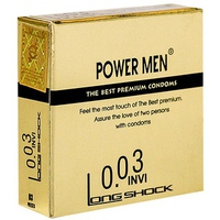 Bao Cao Su Power Men Invi 0.03 Longshock