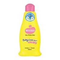 Sữa Tắm Gội Wesser 2in1 Hương Hổ Phách Xạ Hương (Amber Musk)-Hồng