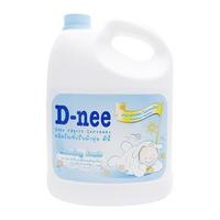 Nước xả mềm quần áo D-nee Morning Fresh 3000ml (xanh)