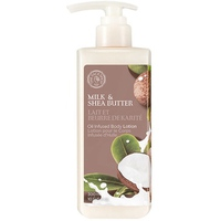 Sữa Dưỡng Thể TheFaceShop Milk & Shea Butter Oil Infused Body Lotion