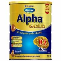 Sữa Dielac Alpha Gold số 4 1.5kg từ 2-6 tuổi