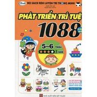 Bộ Sách Rèn Luyện Trí Thông Minh - 1088 CAU DO PHAT TRIEN TRI TUE 5-6 Tuổi (Tập 1-4)