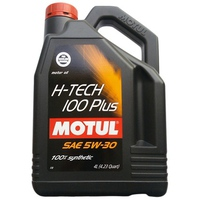 Nhớt Tổng Hợp Motul H-Tech 100 Plus 5w-30 (4L)