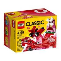 Bộ lắp ráp Lego Classic 10707 - Sáng tạo với màu đỏ