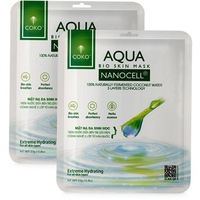 Mặt Nạ Sinh Học Dưỡng Ẩm Coko Aqua Nanocell Mask 23g/miếng