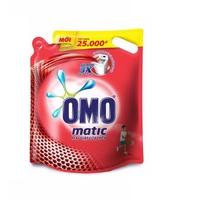 Nước giặt OMO Matic cho máy giặt cửa trên dạng túi