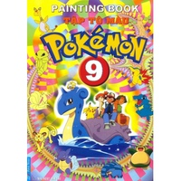 Tập Tô Màu Pokémon (Tập 1-10)