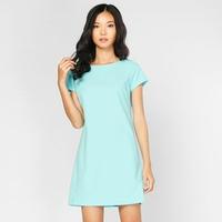 Đầm Suông Tay Ngắn Lilya 1DRE2047