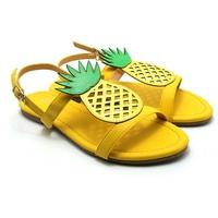 Giày Sandals Nữ Đế Bệt Cindydrella C128