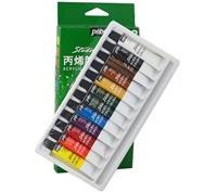 Màu Acrylic Pebeo 12 Tuyp (Hộp Giấy 12ml)