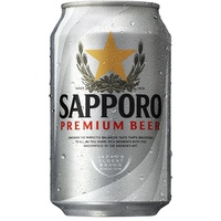 Bia Saporo Premium lon 330ml