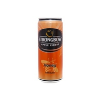 Nước táo lên men Ciders Strongbow Honey Sleek - vị mật ong lon 330ml