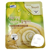 Mặt nạ chiết xuất ốc sên 3W Clinic Fresh Snail Mask Sheet 23ml