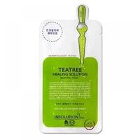 Mặt nạ dưỡng da trị mụn chiết xuất trà xanh Mediheal Teatree Healing Solution Essential Mask