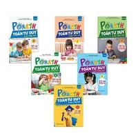 PoMath - Toán Tư Duy Cho Trẻ Em 4-6 Tuổi (Bộ 6 Cuốn)