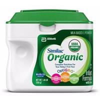 Sữa Similac Organic từ 0-12 tháng 658gr
