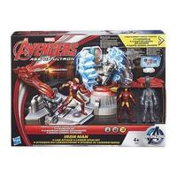 Mô hình nhân vật Avengers - Phòng chiến đấu Iron Man và Ultron B2835/B1402