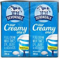 Sữa Devondale nguyên kem 200ml