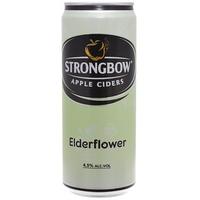 Nước táo lên men Strongbow hoa Elder 330ml