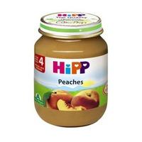 Dinh dưỡng đóng lọ HiPP đào tây 125g 4m+