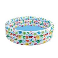 Bể bơi Intex tròn hoa văn