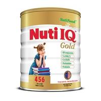 Sữa NUTIFOOF Nuti IQ Gold 456 900g 4-6 tuổi