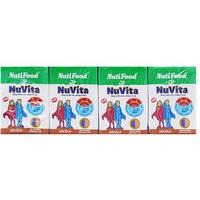 Sữa tiệt trùng Nuvita socola 110ml