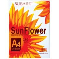 Bìa Giấy Màu A4 Sunflower DL180