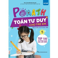 POMath - Toán Tư Duy Cho Trẻ Em 4-6 Tuổi (Tập 5)