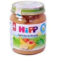 Dinh dưỡng đóng lọ HiPP chuối mơ 125g 4m+