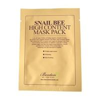 Mặt nạ dưỡng da trị mụn chiết xuất từ nọc ong và ốc sên Benton Snail Bee High Content Mask Pack 20g