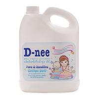 Nước xả làm mền vải Dnee Pure & Sensitive Cotton Soft 3000ml (Trắng)