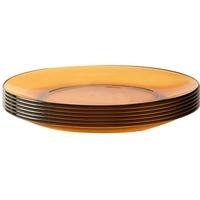 Đĩa thuỷ tinh Amber 3008DF06C1111 19cm