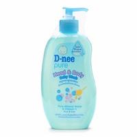 Sữa tắm gội chứa sữa D-nee (xanh)