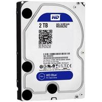 Ổ cứng HDD Western Digital 2TB Blue 3.5 WD20EZRZ Series SATA 3