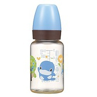 Bình Sữa Nhựa PES Cổ Thường Kuku KU5850A (140ml) - Xanh