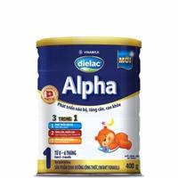Sữa Dielac Alpha số 1 400g 0 - 6 tháng