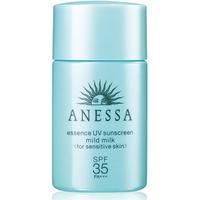 Tinh Chất Chống Nắng Dịu Nhẹ Cho Da Nhạy Cảm và Trẻ Em Anessa Essence UV Sunscreen Mild Milk SPF35, PA+++ - 20ml