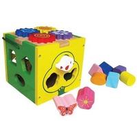 Đồ chơi gỗ Winwintoys 67022 - Hộp thả khối đa năng